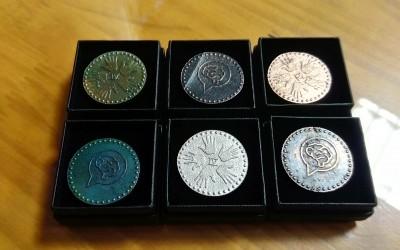 Monedas impresas en 3D y fundidas en bronce para el equipo EMBA 2015/2016
